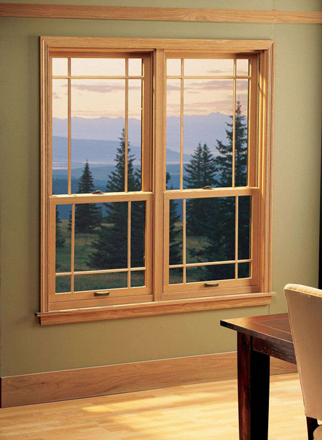 wood double hung windows compressor