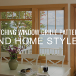 Matching Window Grille Patterns and Home Styles