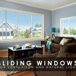 Sliding Windows for Ventilation and Natural Light